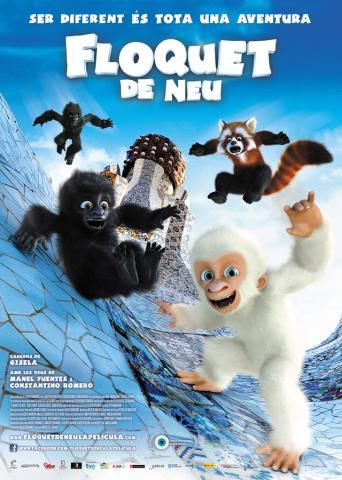 El póster de Copito de Nieve en catalán
