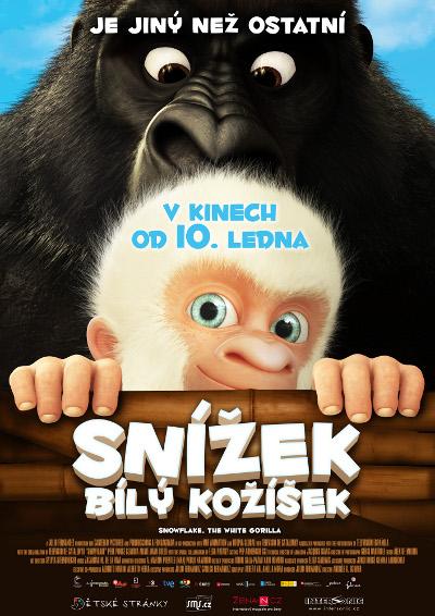 Otra versión checa del póster de Copito de Nieve