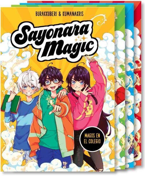 Sayonara Magic - Serie